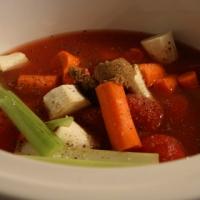 מרק עגבניות של אמא בסיר לבישול איטי