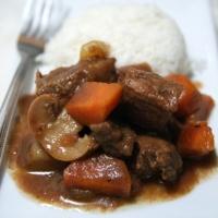 ראגו בקר א לה מוריס ( או בעברית, צלי בקר) בסיר לבישול איטי